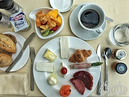 Breakfast with a View at Hotel Le Vendôme Beirut