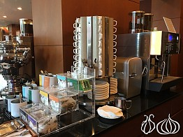 Breakfast at the Coex Intercontinental Hotel, Seoul