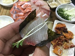 Bada Hwesarang (바다회사랑): The Memorable Sashimi Dinner