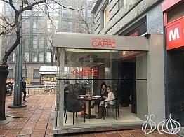 The Emporio Armani Caffe Milano: Food Orgasm!