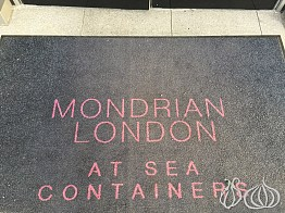 The Impressive Mondrian Hotel, at Sea Containers London