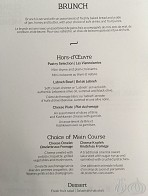 The Same Breakfast Menu for as Long as I Can Remember!