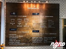 Snowdays' Shaved Ice Cream: A Nonsense Concept!
