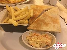 Breakfast at the Holiday Inn City Stars, Cairo