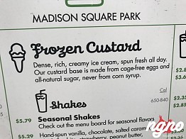 Shake Shack Custard is Not to be Tried!