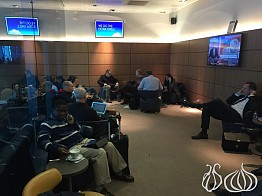 Bad: Brussels Airlines' Business Lounge at Brussels Airport