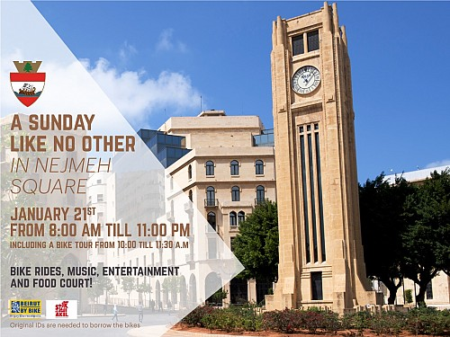 Beirut, Nejmeh Square: A Sunday Like No Other