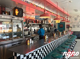 66 Diner: A Typical American Diner!