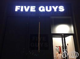 Five Guys Dubai: Same Quality as New York and London