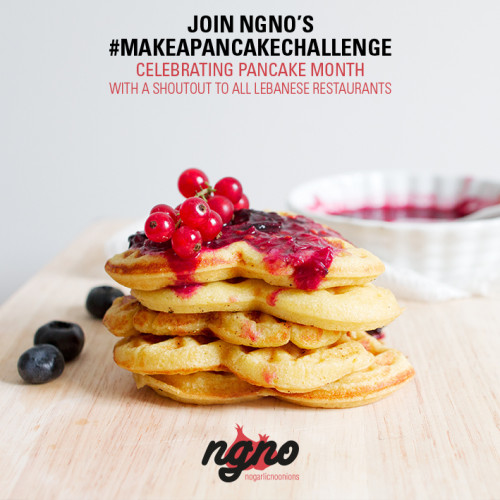 February is Pancake Month: Get Involved!