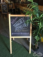 The Hangry Hangar: The Gathering of Three Food Trucks