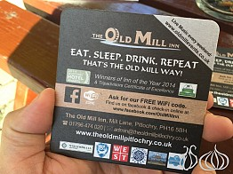 The Old Mill Restaurant, Pitlochry Scotland