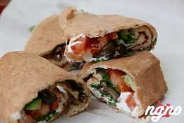 Oasis Mar Charbel Annaya: Superb Saj Wraps!