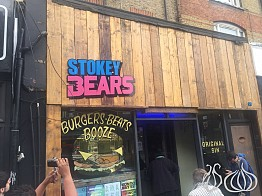 Stokey Bears London: Disco and Burgers
