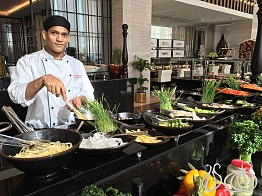Bayside: All Day Dining at the Steigenberger Hotel, Business Bay Dubai