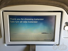 Business Class Onboard Icelandair with Internet Access