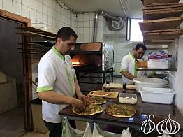 Abou Haidar: Mashrouhet Zaatar, Labneh and Vegetables