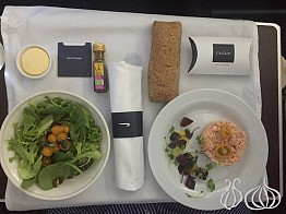 British Airways Business Class on the Way Back to Beirut