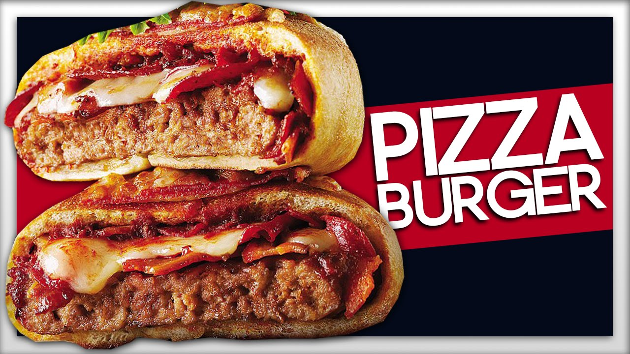Introducing The World S First Pizzaburger