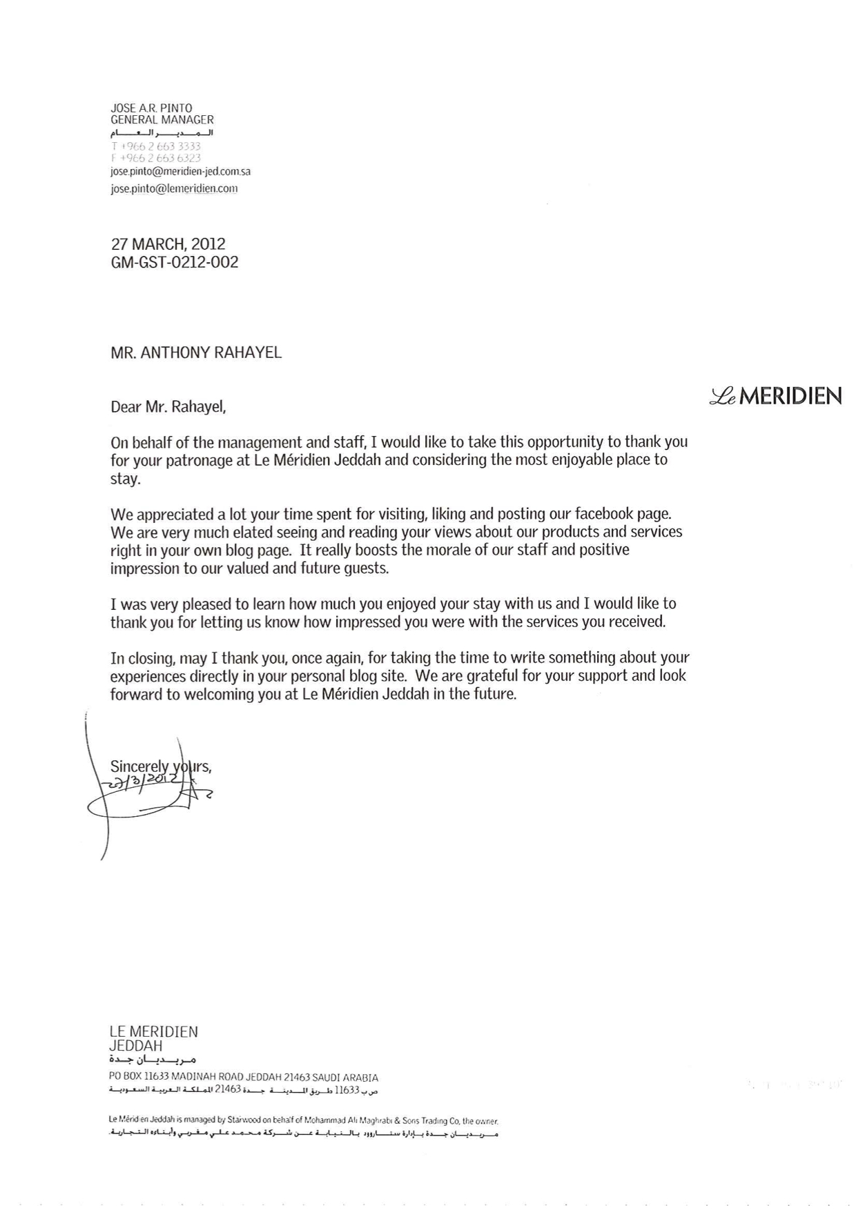 letter-to-mr-athony-rahayel2015-01-22-06-11-44 Vendor Rejection Letter Template on vendor request letter template, vendor termination letter template, vendor reference letter template,